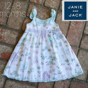 Janie and Jack 12-18 month spring. Dress
